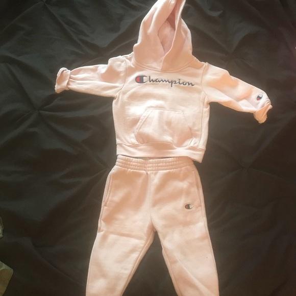 eb03d4f6f Champion Matching Sets | Baby Girl Sweatsuit 18 Months | Poshmark